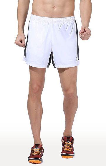 Azani   White Solid Shorts