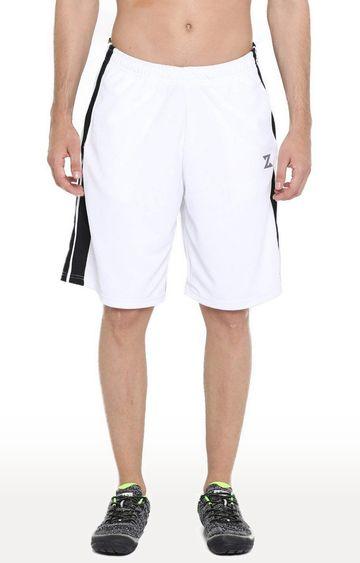 Azani | White and Black Striped Shorts