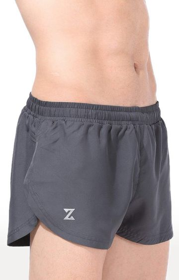 Azani | Slate Grey Solid Shorts