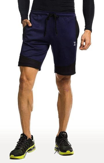 Azani | Navy and Black Colourblock Shorts
