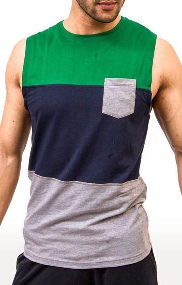Azani   Multicoloured Colourblock T-Shirt
