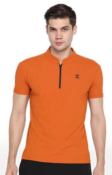 Azani | Burnt Orange Solid T-Shirt