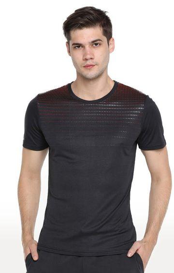 Azani | Black Printed T-Shirt