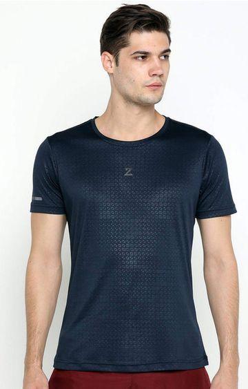 Azani | Navy Printed T-Shirt