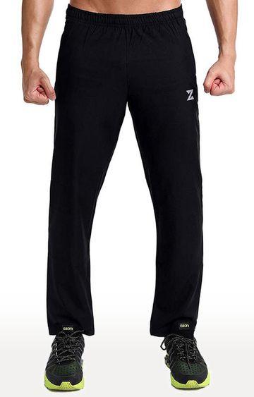 Azani | Black Solid Trackpants