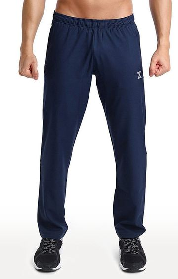 Azani   Navy Solid Trackpants