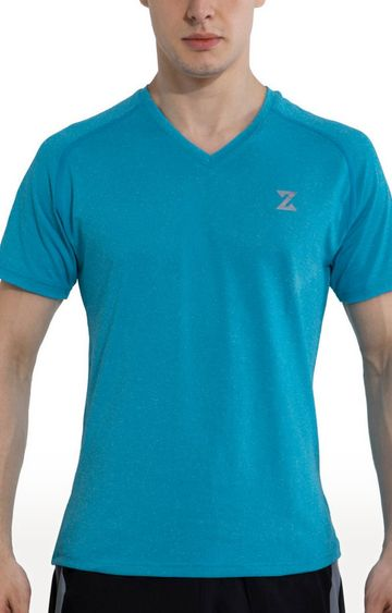 Azani | Blue Solid T-Shirt