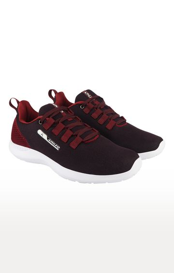 ATHLEO by Action   Maroon Sports Shoes