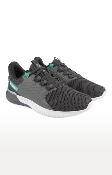 ATHLEO by Action | Dark Grey and Sea Green Sports Shoes
