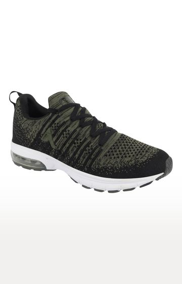 ATHLEO by Action | Olive and Black Sports Shoes