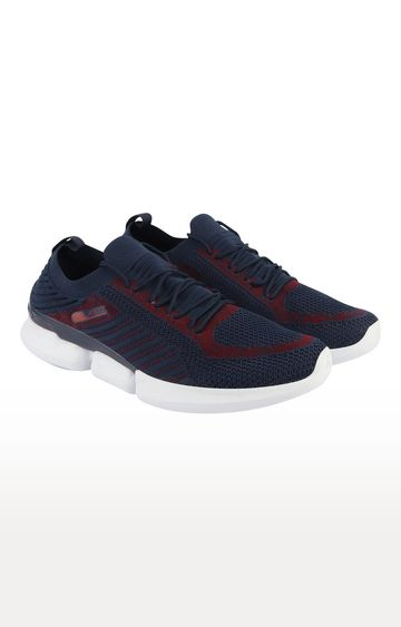 ATHLEO by Action | Navy and Red Sports Shoes