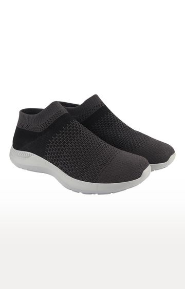 ATHLEO by Action | Black and Grey Sports Shoes
