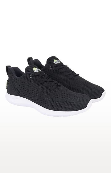 ATHLEO by Action | Black Running Shoes