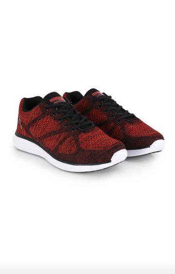 ATHLEO by Action | ATHLEO Red and Black Trainers