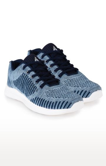 ATHLEO by Action | Navy and Sky Blue Sports Shoes