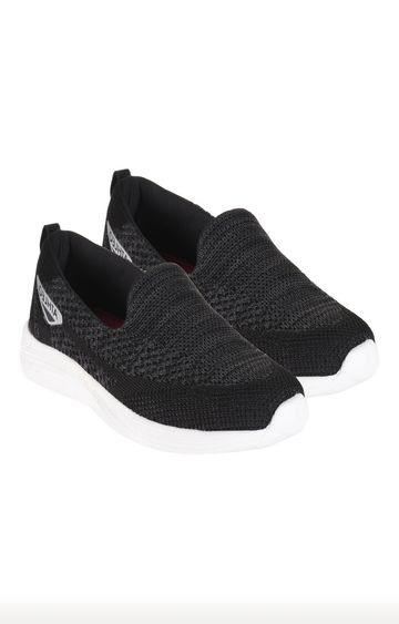 ATHLEO by Action | ATHLEO Black Sports Shoes