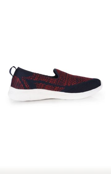 ATHLEO by Action | ATHLEO Navy and Red Sports Shoes