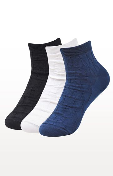 BALENZIA | Multicoloured Printed Socks - Pack of 3
