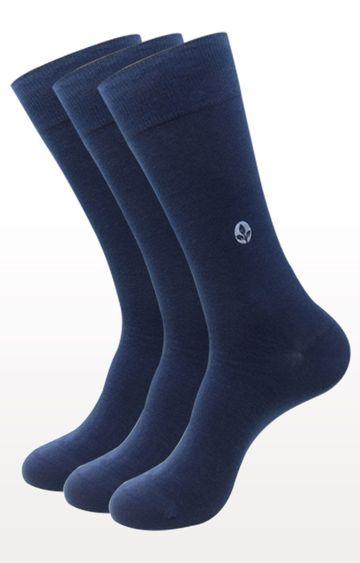 BALENZIA | Navy Solid Socks - Pack of 3