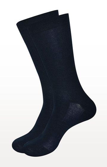 BALENZIA | Navy Solid Socks - Pack of 2