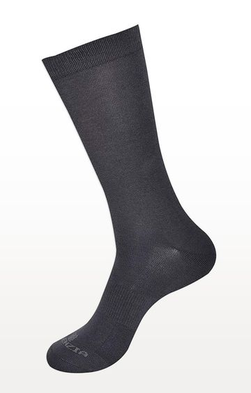 BALENZIA   Grey Solid Socks - Pack of 2