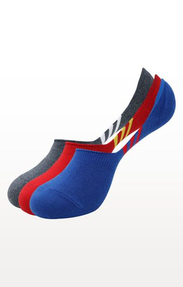 BALENZIA | Multicoloured Striped Socks - Pack of 3