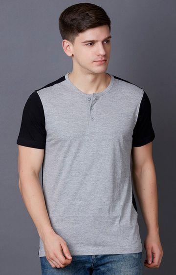 MARCA DISATI | Grey Melange T-Shirt