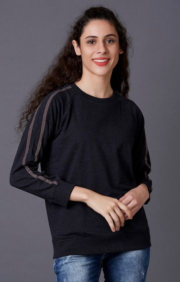 MARCA DISATI | Charcoal Melange Sweatshirt