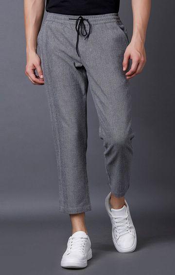MARCA DISATI | Grey Melange Cropped Jeans