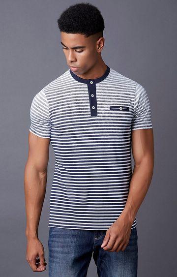 MARCA DISATI | White Striped T-Shirt