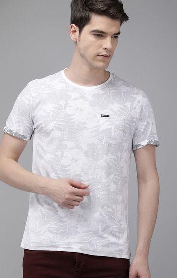 The Bear House | Grey Printed T-Shirt