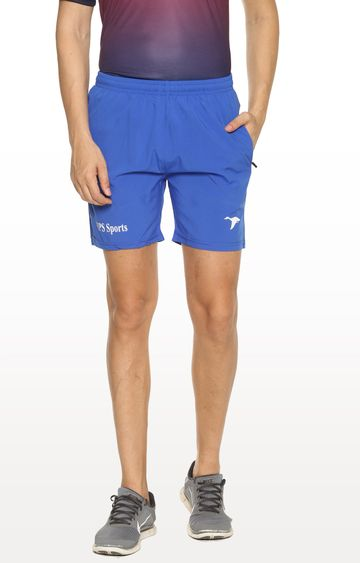 HPS Sports | Blue Solid Shorts