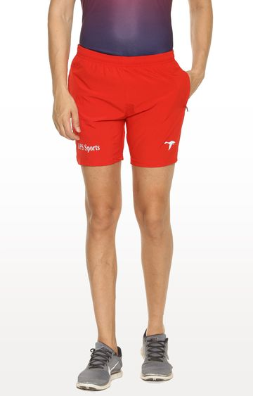 HPS Sports | Red Solid Shorts
