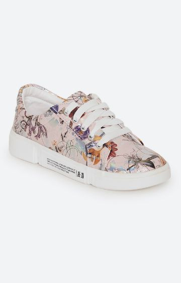 Climbr | Pink Casual Lace-ups