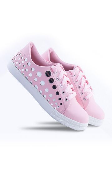 Climbr | Pink Sneakers