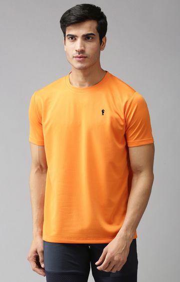 Eppe | Orange Solid T-Shirt