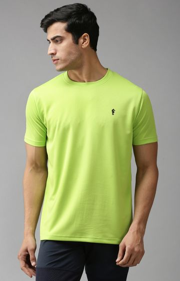 Eppe | Bright Green Solid T-Shirt