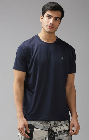Eppe | Navy Solid T-Shirt