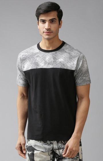 Eppe | Black and White Printed T-Shirt