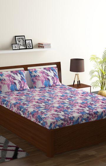 ISpace | IWS 104 TC Cotton Double Bedsheet