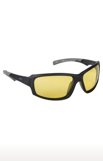 Invu | Rectangular Sunglass with Yellow Lens