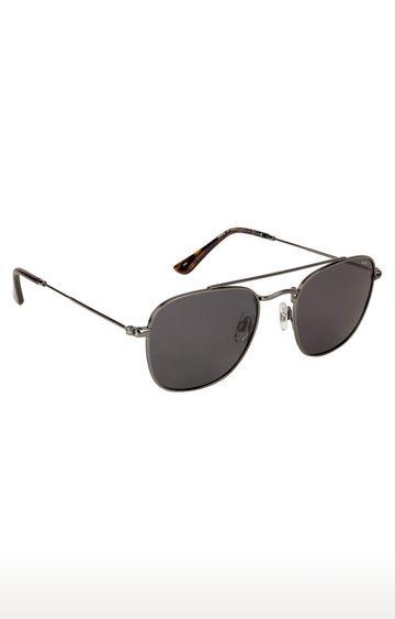 Invu | Square Sunglass with Grey Lens