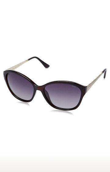 Invu   Cat-eye Sunglass with Smoke Lens