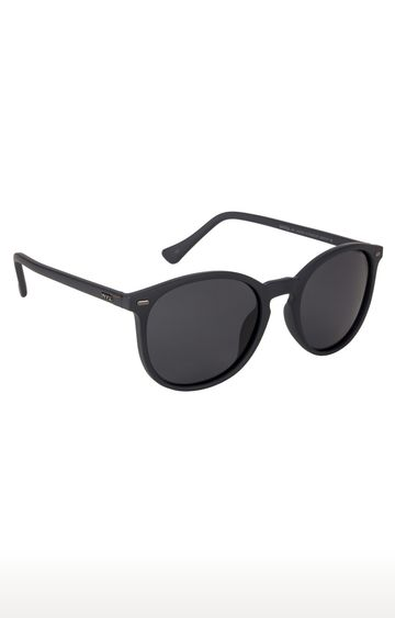 Invu | Round Sunglass with Smoke Lens