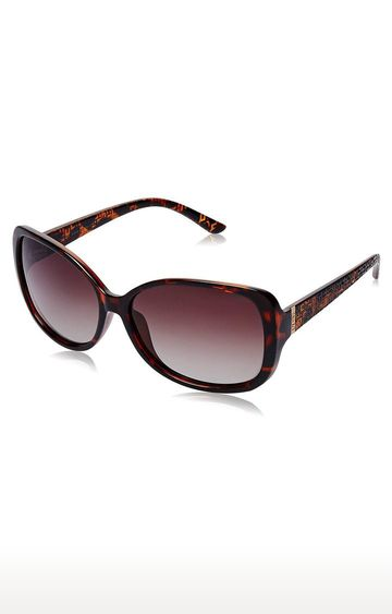 Invu | Oversized Sunglass with Brown Lens