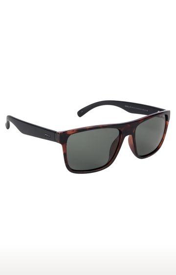 Invu | Rectangular Sunglass with Grey Lens