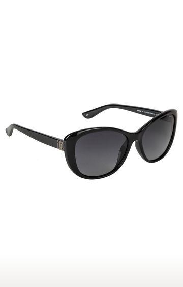 Invu   Cat-eye Sunglass with Grey Lens