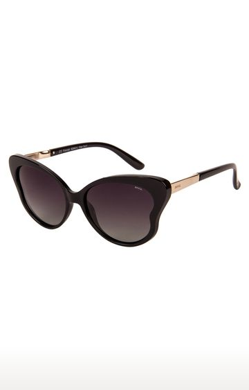 Invu | Cat-eye Sunglass with Purple Lens