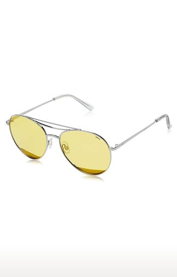 Invu | Aviator Sunglass with Yellow Lens