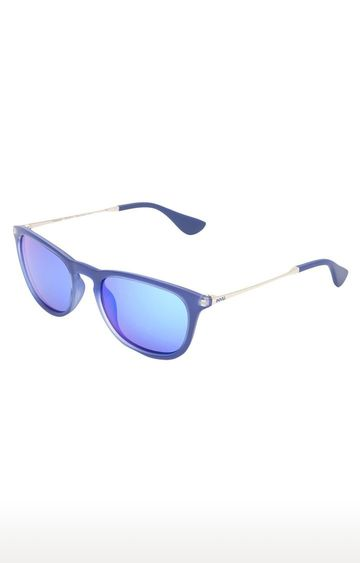 Invu | Wayfarers Sunglass with Blue Lens